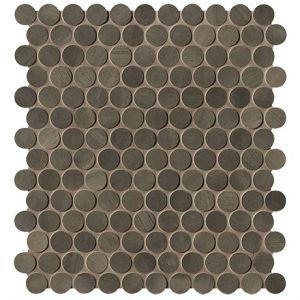 Мозаика Fap Ceramiche Brickell Brown Round Mosaico Matt 29,5 x 32,5 см (8,5 мм)