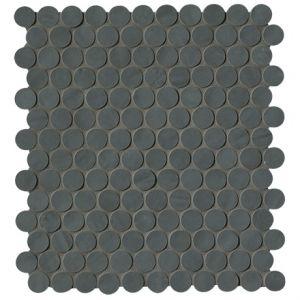 Мозаика Fap Ceramiche Brooklyn Carbon Round Mosaico 29,5 x 32,5 см (8,5 мм)