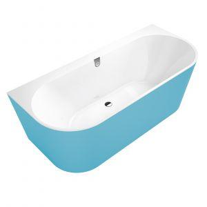 Ванна из материала Quaryl® 180 х 80 см Villeroy & Boch Oberon 2.0 (star white)