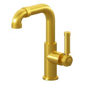 Смеситель для раковины Graff Vintage (цвет - BAU шлифованное золото 24K), без донного клапана