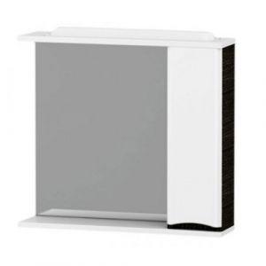 Зеркальный шкаф 78 х 80 см правосторонний Am.Pm Like, белый глянец/венге
