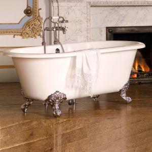 Ванна из материала QuarryCast® Victoria + Albert Classic 175 х 80 см + ножки полированная латунь