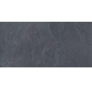 Плитка напольная Zeus Ceramica Slate Black 45 х 90 см (20 мм)