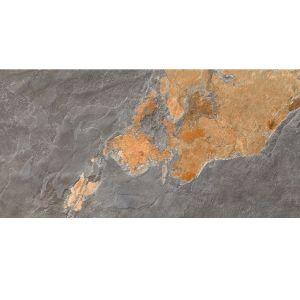 Плитка напольная Zeus Ceramica Slate Multicolor 45 х 90 см (20 мм)
