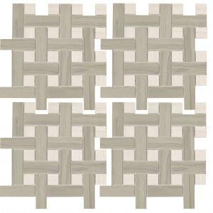 Мозаика Zeus Ceramica Marmo acero Bardiglio 30 х 30 см (9,5 мм)