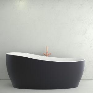 Ванна акриловая 180 х 85 см Knief Relax, слив/перелив щелевой Slot overflow