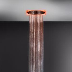 Встраиваемая в потолок душевая система Gessi Afilo Ø 350 мм, тропический ливень (цвет - 238 mirror steel)