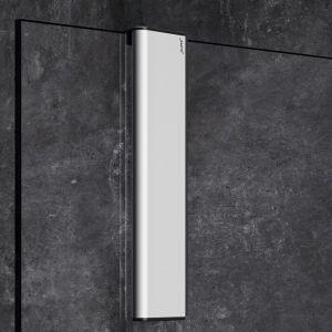 Скребок Huppe Select+ Wiper, матовое серебро