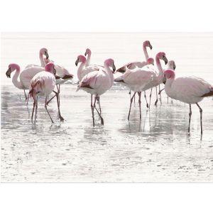 Декор настенный Opoczno Elegant Stripes Panno Flamingo декор 2 75 х 50 см (комплект 2 шт)