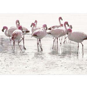 Декор настенный Opoczno Elegant Stripes Panno Flamingo декор 2 75 х 50 см (комплект 2 шт.)