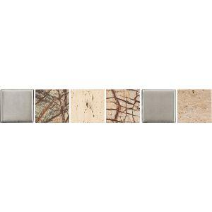 Декор настенный Opoczno Avenue Beige Border Stohe Listwa Matt 4,8 × 29,7 см