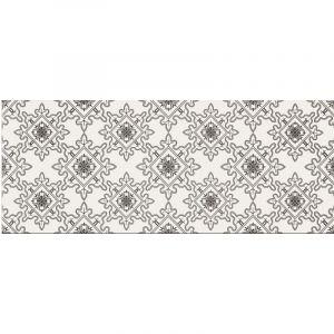 Декор настенный Opoczno Black & White Pattern E 50 х 20 см