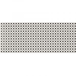 Декор настенный Opoczno Black & White Pattern D 50 х 20 см
