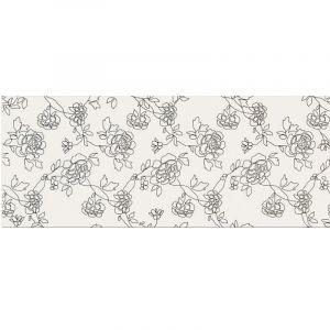 Декор настенный Opoczno Black & White Pattern С 50 х 20 см