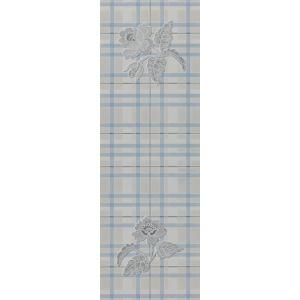Керамогранит Settecento Regent Street Flower B Azzurro 24 х 72 см