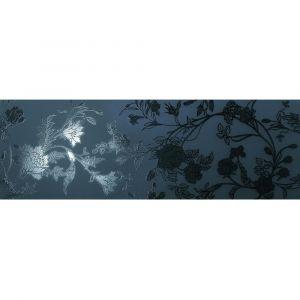 Керамогранит Settecento Boudoir Decoro Chinoise Nero su Nero 31,9 x 96,3 см