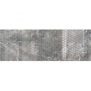 Керамогранит Settecento Zero.6 Decoro Fuji Grigio Imperiale 120 x 41,5 см Lev. (12 мм)