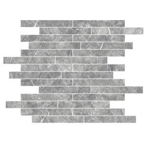 Мозаика Settecento Zero.6 Grigio Imperiale 39,4 x 39,4 см Lev. (12 мм)