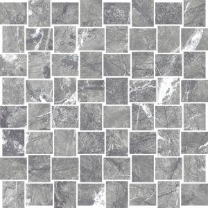 Мозаика Settecento Zero.6 Grigio Imperiale 30 x 30 см Lev. (12 мм)