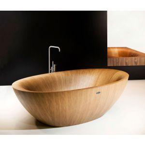 Деревянная ванна Alegna Laguna Pearl XL 215 х 130 см Eiche матовая