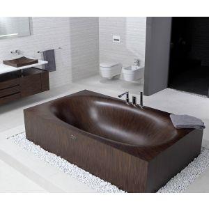 Деревянная ванна Alegna Laguna Basic 230 х 120 см Nussbaum матовая