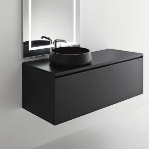 Раковина накладная на столешницу Ø 42 см Oasis Master Collection, Black Matt