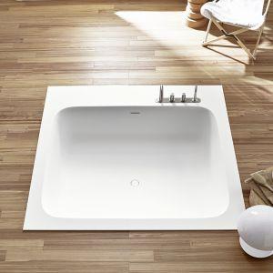 Ванна встраиваемая из материала Corian® 180 х 160 см Rexa Design R1, цвет Glacier White C01