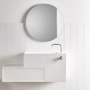 Плитка из Corian® 12 х 12 см Rexa Design Unico Quadro Glacier White