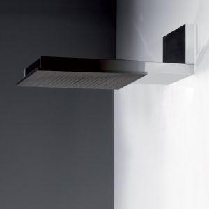 Настенная душевая лейка Gessi Minimali Shower System 500 x 500 мм, тропический ливень/водопад/распыление (цвет - цвет - 238 mirror steel)