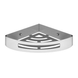 Настенная угловая полка для ванны или душа Gessi Rilievo Accessories, хром