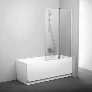 Шторка для ванны Ravak CVS2-100 R полир. алюм+Transparent