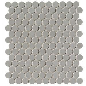 Мозаика Fap Ceramiche Milano&Floor Grigio Round Mosaico Matt 29,5 x 32,5 см