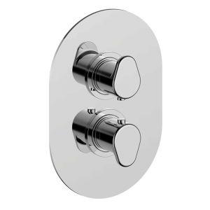 Термостат для душа на 1 потребитель Cisal Lineaviva (цвет - хром)