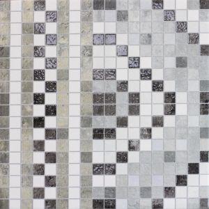 Мозаика напольная Monopole Ceramica Tesela Cenefa Pietr 22,3 х 22,3 см