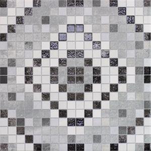 Мозаика напольная Monopole Ceramica Tesela Terra 22,3 х 22,3 см