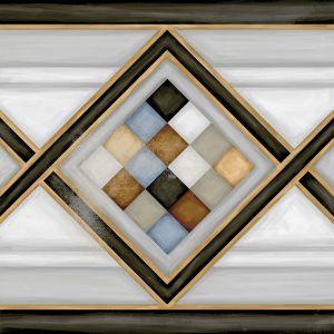 Керамогранит Vives Ceramica Vodevil Pombo-2 Multicolor 20 х 20 см